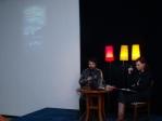 Jędrzej Morawiecki i prowadząca Olga Groblińska